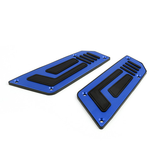Footrest Footpeg Footboard Front Fit For Yamaha TMAX 530 (2012-2015) Blue