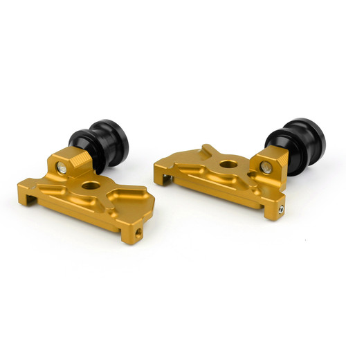 CNC Swingarm Spool Adapters Fit For Yamaha YZF-R25 (2015) Gold