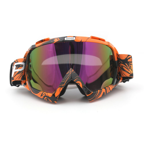 Goggles Helmets Motocross Ski Sport Gafas Fit For Motorcycle Dirt Bike ATV C