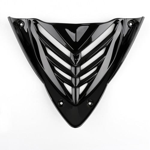 V Grill Under Antifouling Cover Fit For Yamaha YZF R25 (14-18) R3 (15), Black