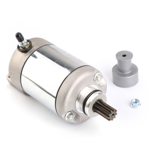 Electric Starter Motor Fit For Polaris PREDATOR 500 2003-2007 PREDATOR 500/LE 2007 Silver