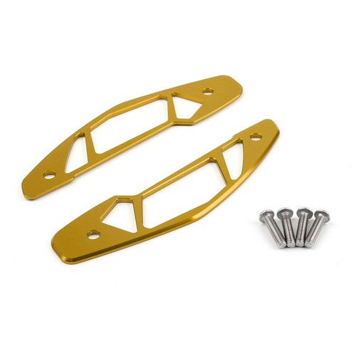 Air Inlet Cover CNC Aluminum Fit For Yamaha MT-09 MT09 (2014-2015) Gold
