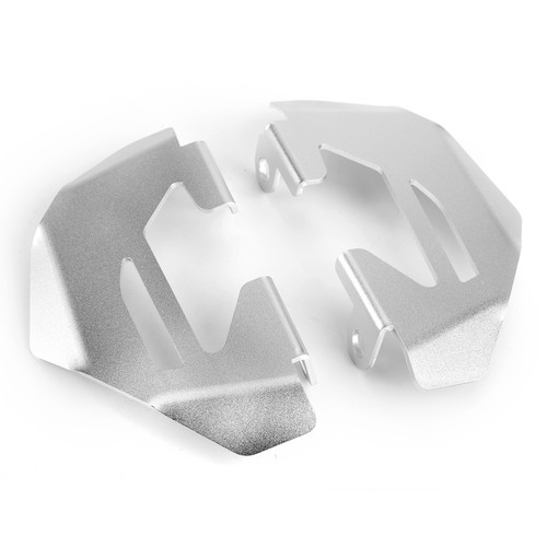 2x Brake Caliper Guard Front Fit For BMW R1200GS 2013-2017 Silver