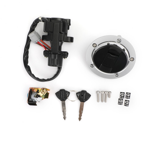Ignition Switch Fuel Gas Cap Seat Lock Key Kit Fit For Suzuki GSXR600 GSXR750 06-18 GSXR1000 05-18 DL650 V-Strom 12-16 DL1000 V-Strom 14-16