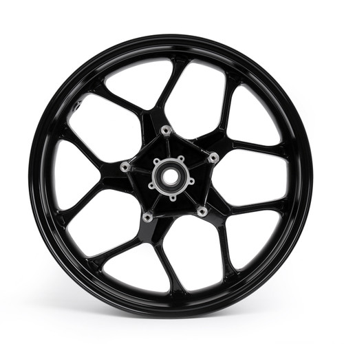CNC Front Wheel Rim Fit For Yamaha YZF R1 (2015-2017) Black