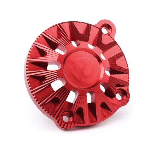 CNC Aluminum Engine Stator Cover Guard Protector Fit For Kawasaki Z900 (2017) Red