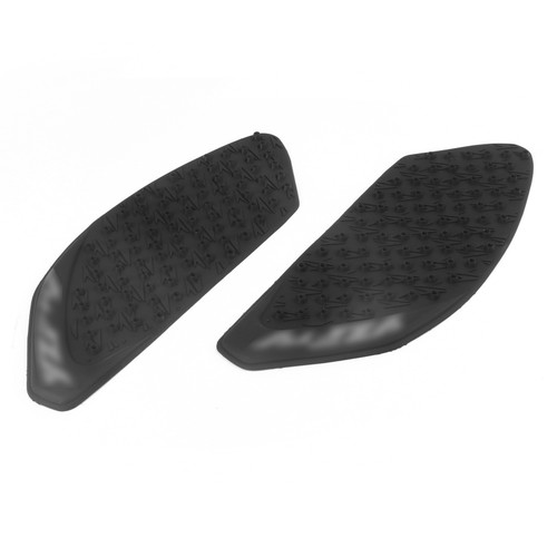 Rubber Tank Traction Pad Side Gas Knee Grip Protector Fit For Yamaha R1 (2009-2012) Black