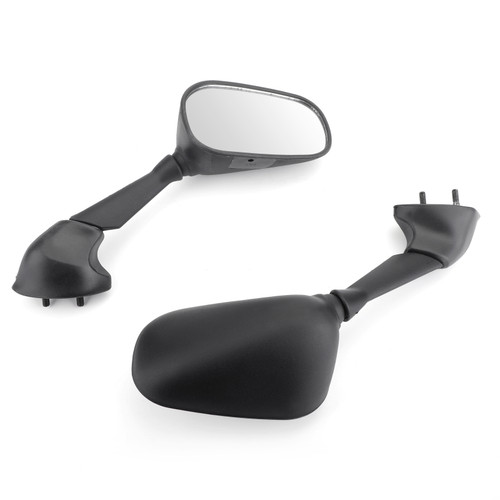 Mirrors Fit For Yamaha YZF R6 06-07 Black
