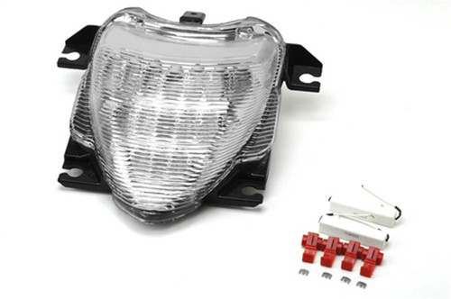 Integrated LED TailLight Turn Signals Fit For Suzuki Boulevard M109R 2006-2009 Clear