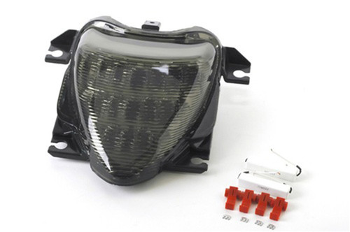 Integrated LED TailLight Turn Signals Fit For Suzuki Boulevard M109R 2006-2009 Smoke