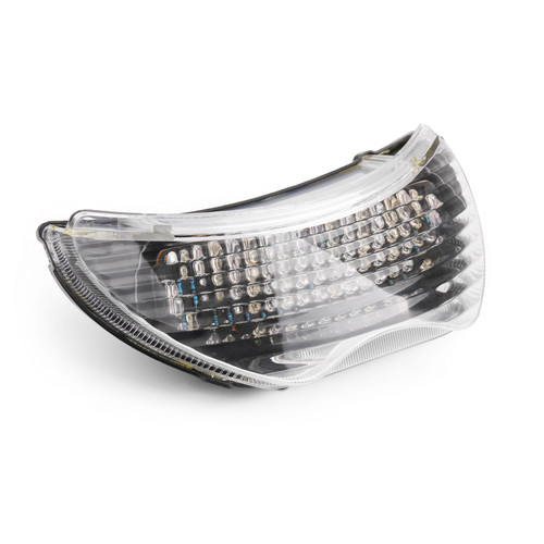 Integrated LED TailLight Turn Signals Fit For Honda CBR 600 F4 F4i CBR 900 RR Clear