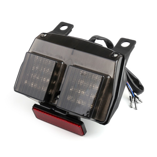 Integrated LED TailLight Turn Signals Fit For Ducati 748/916/996/998/998R Smoke