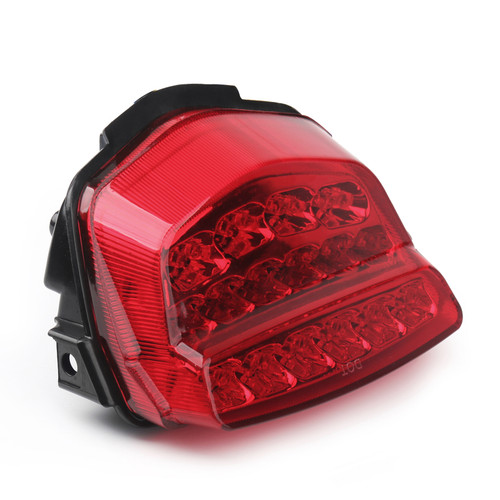 Integrated LED TailLight Turn Signals Fit For Honda CBR1000RR 2008-2012 Red