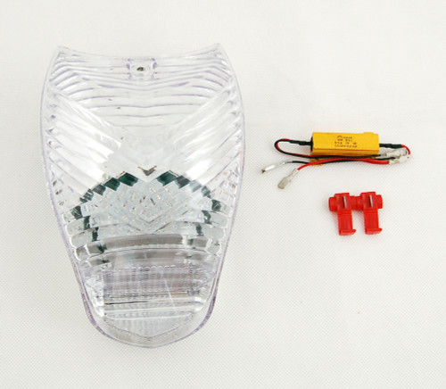 LED Taillight + Turn Signals Fit For BMW K1200R K1200S All Year Clear