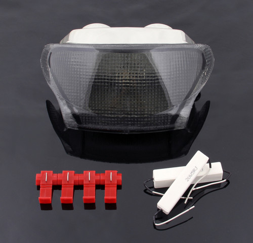 Taillight integrated Turn Signals Fit For Triumph Daytona 595 995 Speed Triple Smoke