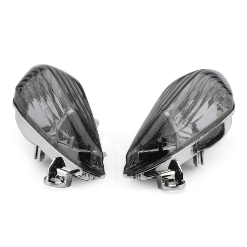 Front Turn Signals Fit For Lens Honda CBR1000RR 2008-2009 Smoke