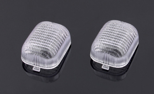 Front Indicators Turn Signals Lens Fit For Buell M2 (1997-2001), Clear