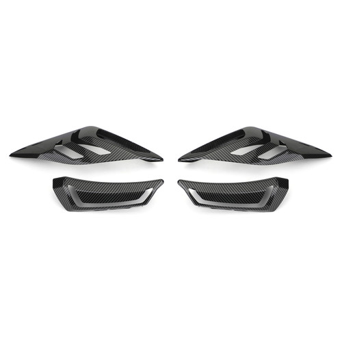 Front Rear Turn Signal Light Cover Fit For Yamaha XMAX 250 18-19 300 17-19 400 17-19 Carbon