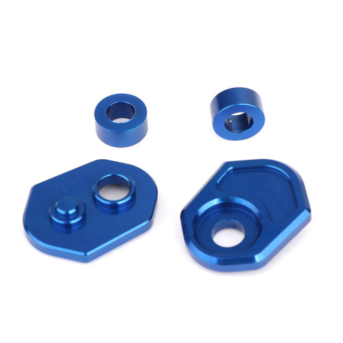 Aluminum Turn Signals Indicator Adapter Spacers Fit For Honda MSX125 13-15 MSX125SF 16-19 Blue