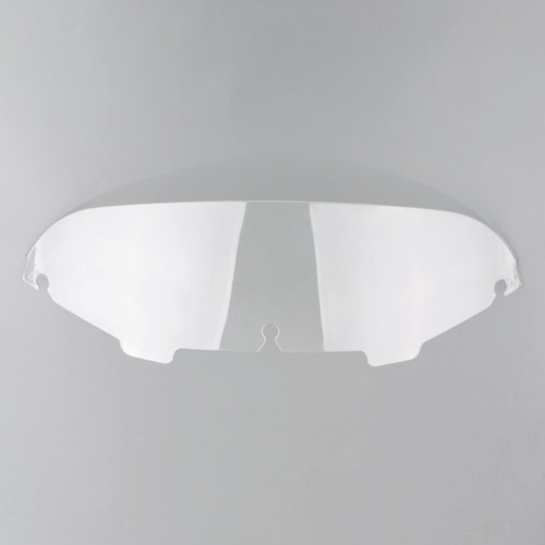 "4.5"" Wave Windshield Windscreen Fit For Harley Electra Street Glide Touring, Clear"