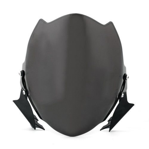 Fly Wind Screen Windshield Fit For Ducati Monster 659/696/795/796 Black