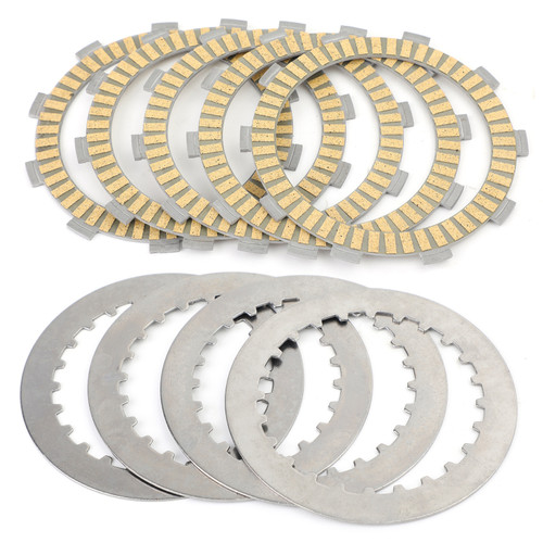 Clutch Plate Kit - Friction & Steel Plates Fit For Honda ATC250ES Big Red 1985-1988 ATC250SX ATC250 1985-1987