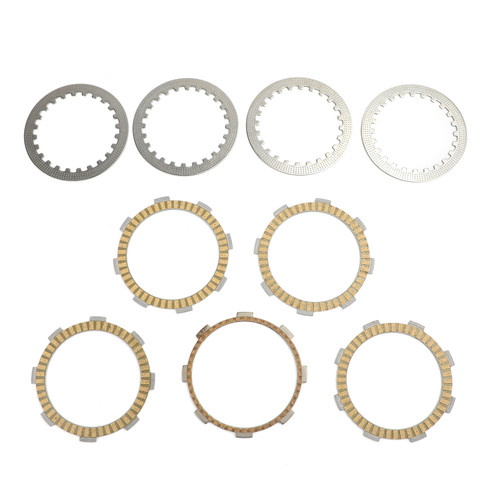 Clutch Plate Kit - Friction & Steel Plates Fit For Honda CA125 Rebel CA125 S/T 1995-1996