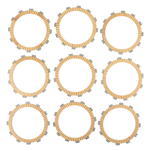 Clutch Plate Kit - Friction Plates Fit For Yamaha XV1600 Road Star XV1700 Road Star