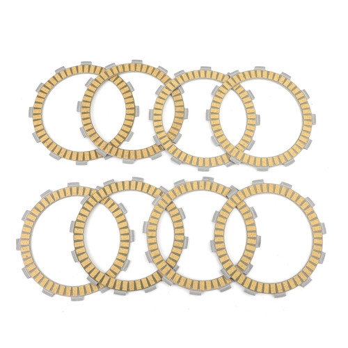 Clutch Plate Kit - Friction Plates Fit For Suzuki DR750 SJ/SK 1988-1989 DR650SE DR650 1996-2017 XF650 Freewind 1997-2002 DR800 1990-1997