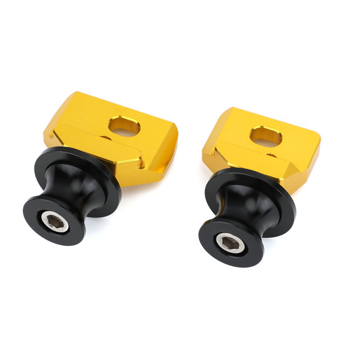 Chain Adjuster Block With Stand Spool Fit For Honda CB650R CBR650R 2019-2020 Gold