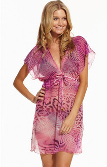 Pink Panther Tunic Cover-Up