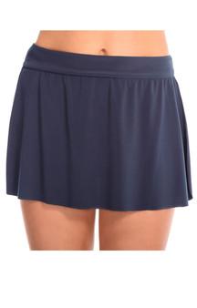 Jersey Skirted Bottom - Slate