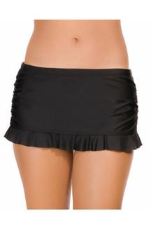 Eco Shirred Side Skirt