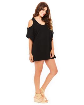 Mambo Cover-up Dress - Black