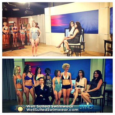 Well Suited Swimwear Featured on First Coast Living
