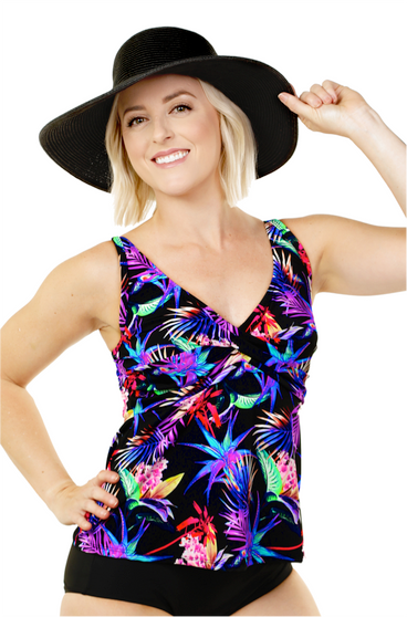Twist Front Tankini Top - 2020 Collection!