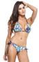 Aquatic Blue Reversible Bikini
