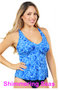 Twist Front Tankini Top - More Colors Available!