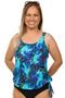 Mastectomy Blouson Tankini Top - 2022 Collection Now Available!