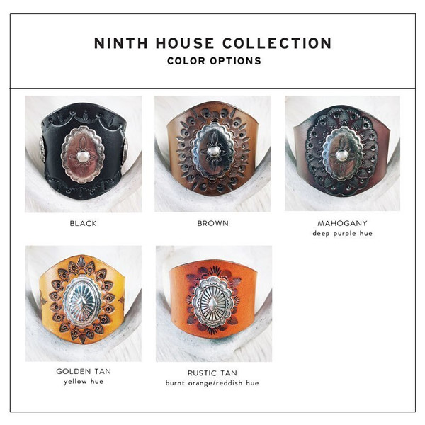 Leather Stains - Color Options - Ninth House Collection