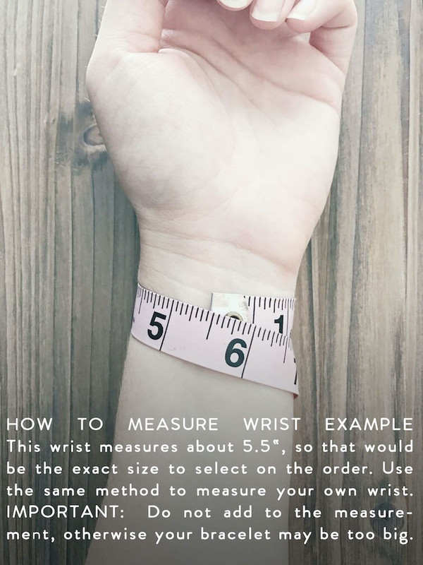 How to Measure Your Wrist for Leather Bracelets - Ninth House Collection