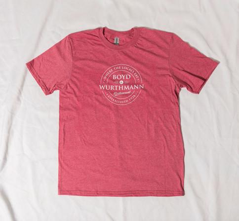 Boyd & Wurthmann Logo T-Shirt