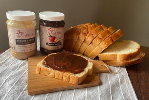 Homemade Bread & Spreads Combo