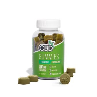 CBD Gummies with Turmeric & Spirulina