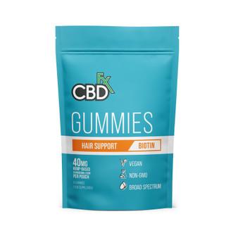 CBD Gummies Biotin, Hair -40mg (8ct Pouch)