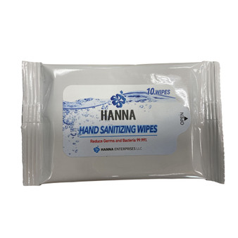 Hanna - Hand Sanitizing Wipes