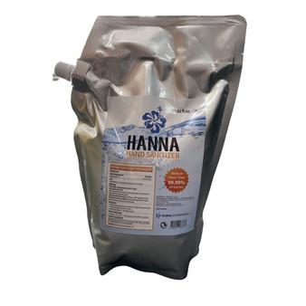 Hanna Liquid Sanitizer 2l-64.62fl oz