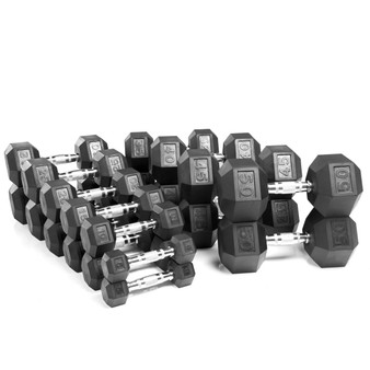Hex Dumbbell Set (370lbs)