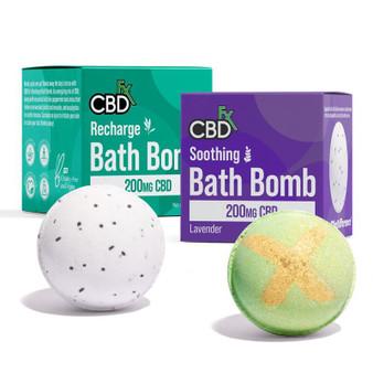 Recharge Bath bomb