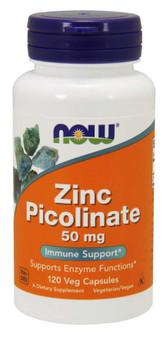 Zinc Picolanate - 50mg (120 vcaps)